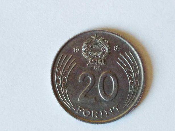 Oferuję Monetę Węgry20forintów,1985 w stanie dobrym