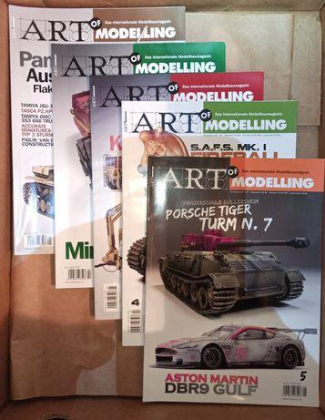 Art of Modelling Modellbau Magazin Zeitschrift 19 Stücke