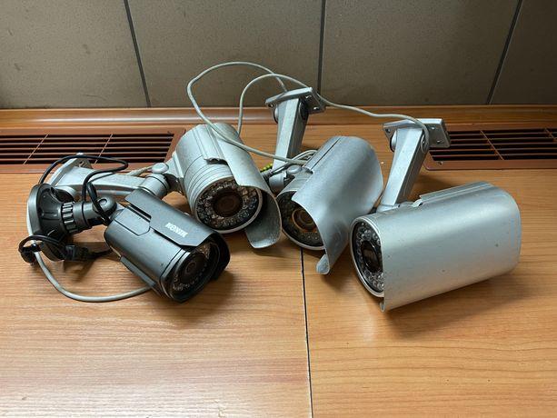 Zestaw do monitoringu rejestrator BCS 4 kamery zasilacz dysk 1 TB