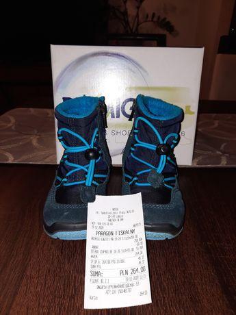 Buty dziecięce zimowe PRIMING, śniegowce r. 22 chłopiec.