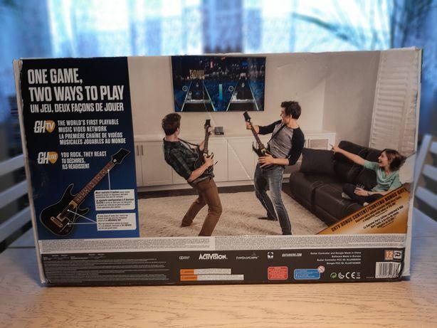 Gra Gitar Hero,  zestaw dwóch gitar Xbox One
