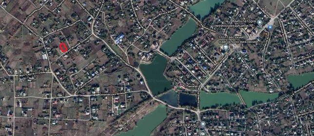 Рибці, земельна ділянка 10 соток, поруч ставок