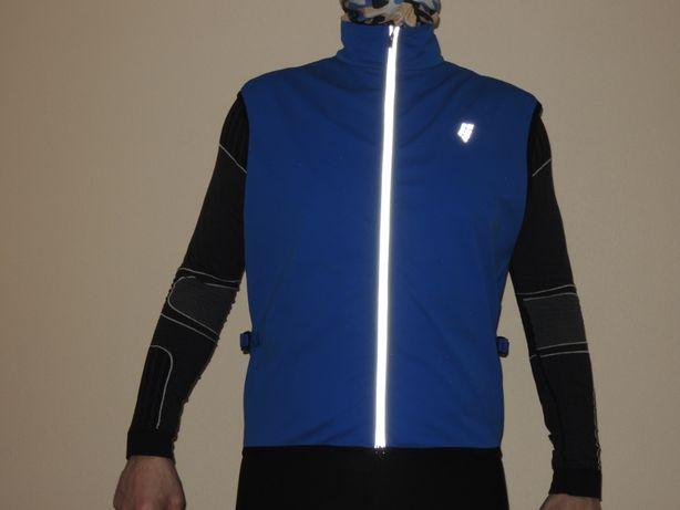 фирменный мембранный спорт вело жилет Crane Techtex p.M/L