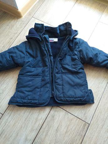 Утеплена курточка на хлопчика 1-2 рочки.
