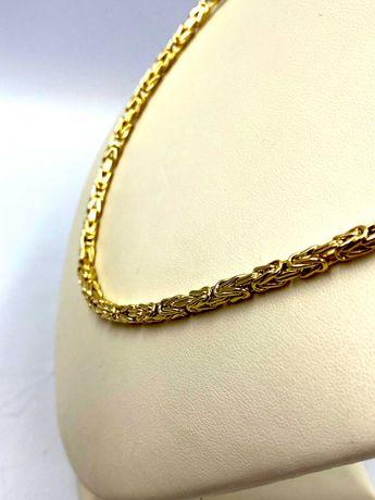 Nieużywany złoty Łańcuszek Pr. 585 Waga: 19,68 G PLUS LOMBARD
