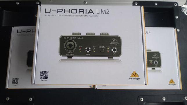 Behringer U-Phoria UM2 novo por estrear envio por CTT
