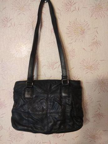 Кожанная женская сумка LORENZ  ACCESSORIES