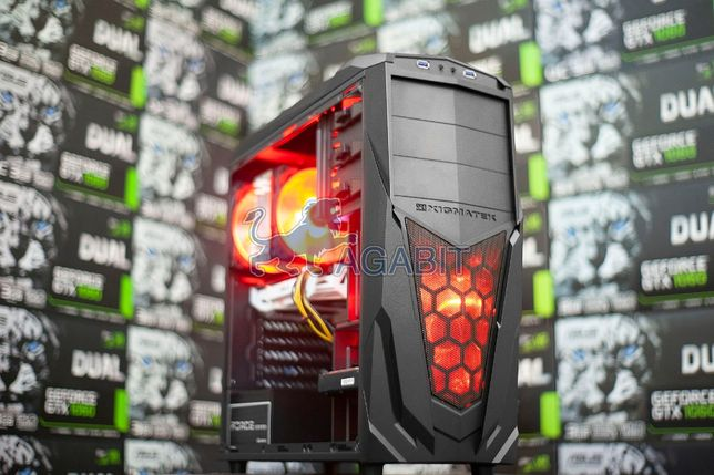 Компьютер ИНКАССАТОРА! i7+GTX1060 6GB+16GB игровой ПК системный блок