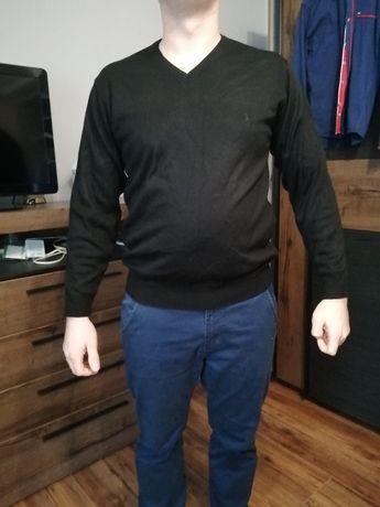 Sweter męski czarny