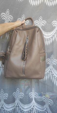 Рюкзак ЭКО кожа , большой рюкзак