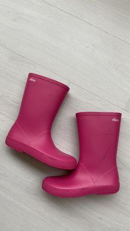 Резиновые сапоги Chicco 32 размер розовые девочке