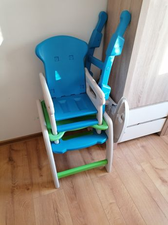 Krzesełko i stolik Candy 2w1