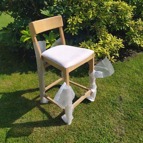 Krzeslo barowe hoker drewniane Fameg Bst 0955