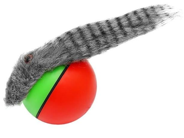 Zabawka Biegająca Skacząca FRETKA PIŁKA PSA KOTA