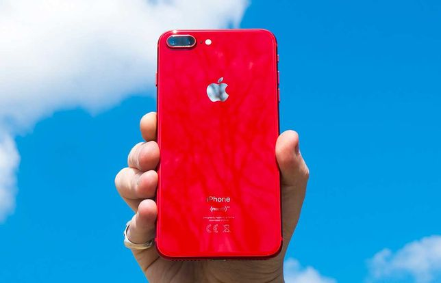 NEW iPhone 8+ 256 Gb Red Silver • АЙФОН •