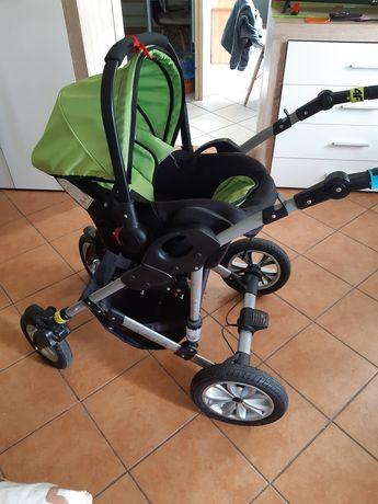 Wózek 3w1 zielony