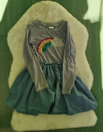 Sukienka Next 122, cekiny