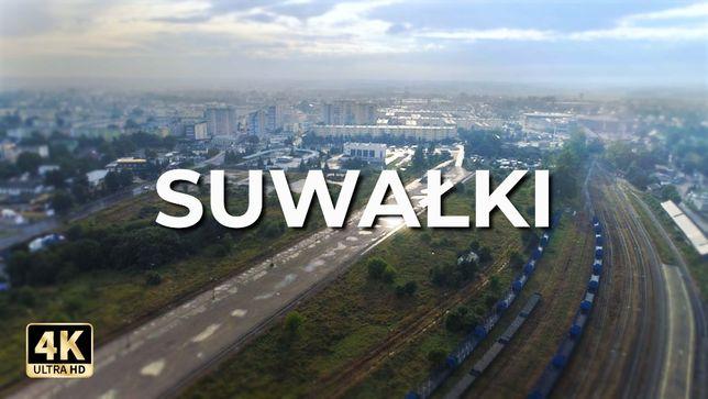 Filmowanie z drona [4k] | Operator drona | Suwałki i okolice [faktura]
