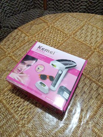 Лазерный эпилятор Kemei TMQ-KM 6812, Фотоэпилятор для всего те