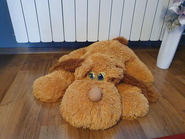 Maskotka duża pies leżący