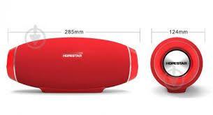 Портативная bluetooth колонка спикер Hopestar H32 Красная,новая.