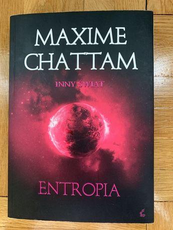 """""""Entropia"""" - Maxime Chattam, książka młodzieżowa"""