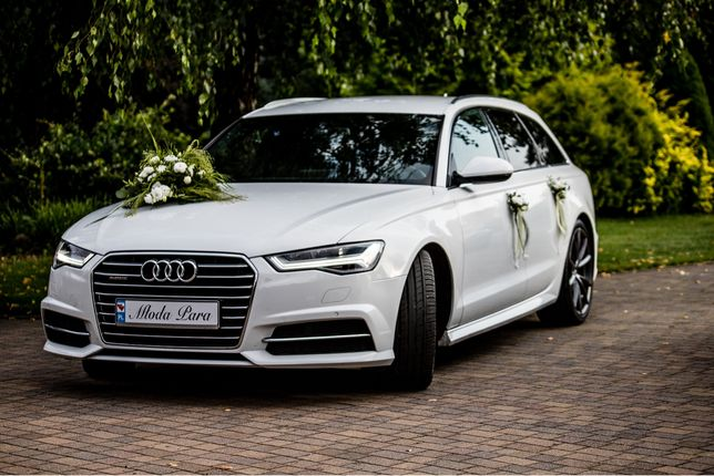 Auto do ślubu Audi a6 avant