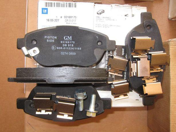 Колодки тормозные FIAT 500 L Opel Corsa D 77366481 68190118AB 1605354