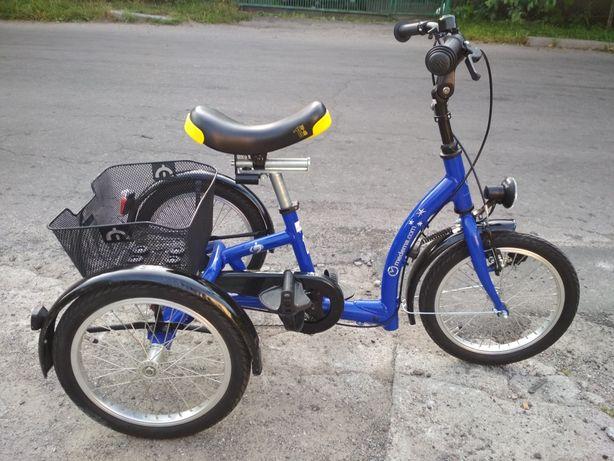 Велосипед триколісний трехколесный Medema