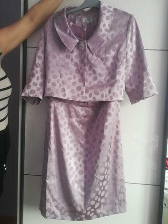 Sukienka z żakietem rozmiar 40