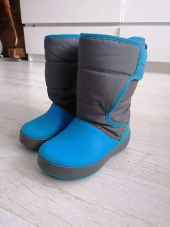 Crocs śniegowce rozmiar C9 buty zimowe