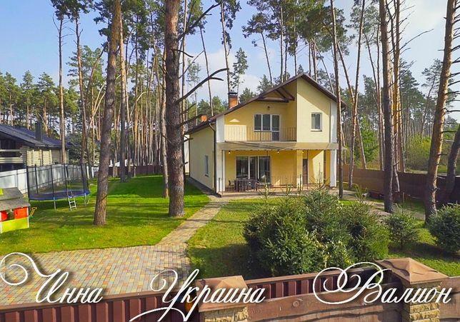 Дом в лесу в рядом озера Блиставица- Гостомель. улица Петровского 95