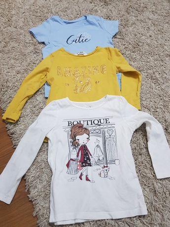 T-shirty rozmiar 104
