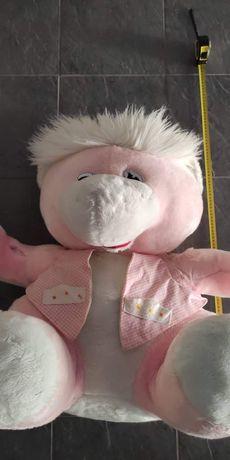 Peluche rosa com 80cm