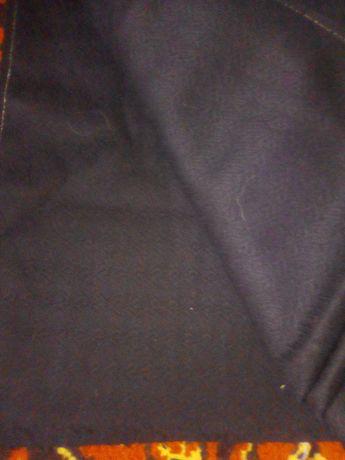 Продам отрез ткани,цвет черный ,