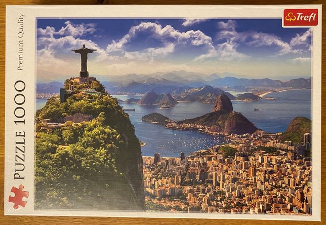 Nowe puzzle Trefl 10405, 1000 el, Rio de Janeiro