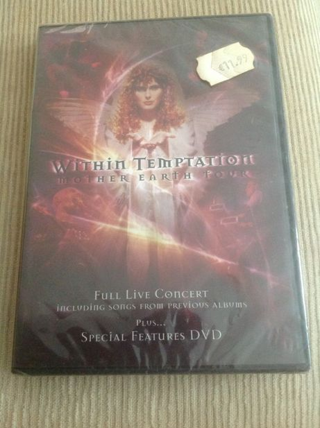 DVD Withim Temptation-Mother Eart ( ful live concert)
