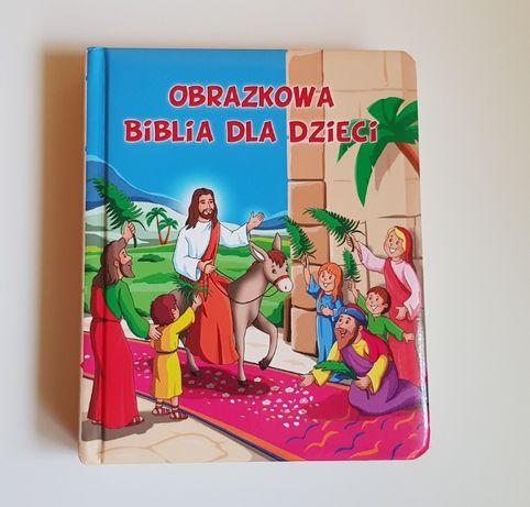 Książka Biblia dla dzieci Anna Wiśniewska grube kartki