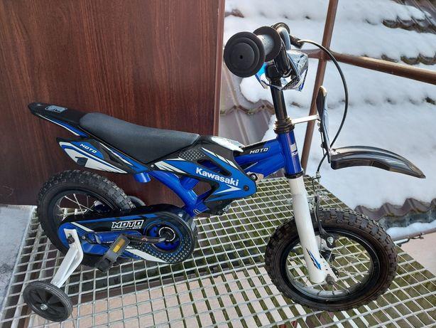 Rower Kawasaki Motor Bike koła 12