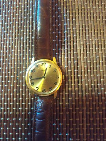 Часы Чайка позолоченные