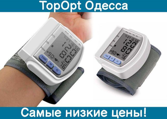 Цифровой тонометр на запястье, измеритель давления Automatic СК - 102S
