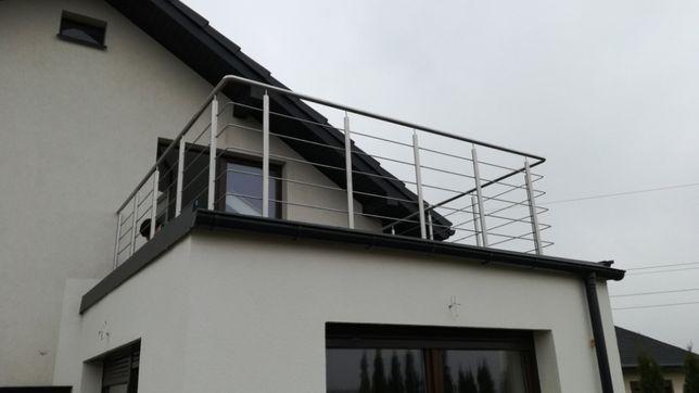 Balustrada ze stali nierdzewnej tanio i solidnie!!!