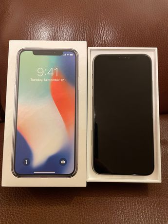 Продам Iphone X 256 silver в идеальном состоянии