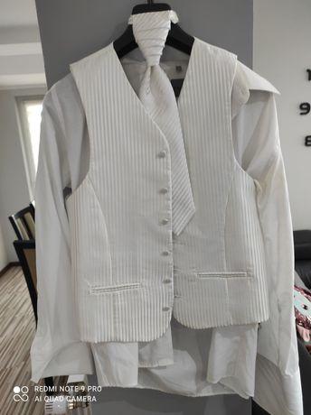 Koszula męska z kamizelka