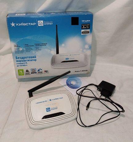 Маршрутизатор Wi-Fi Роутер TP-Link TL-WR741ND
