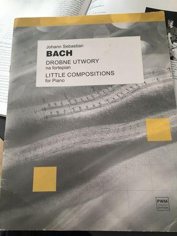 drobne utwory na fotepian Bach