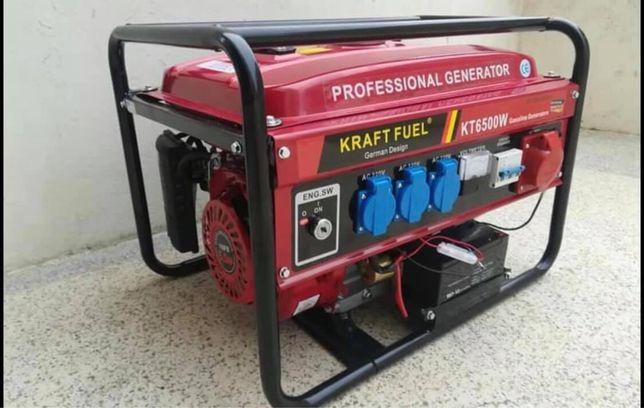 Gerador 6500w a gasolina novo
