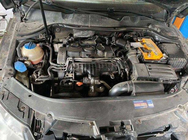 Двигатель BMR 2.0 TDI VW Passat B6 Фольксваген Пассат Б6 Мотор