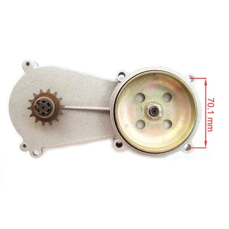 Редуктор 1:4 для тримера бено пилы косы на тример велосипед мини мотор