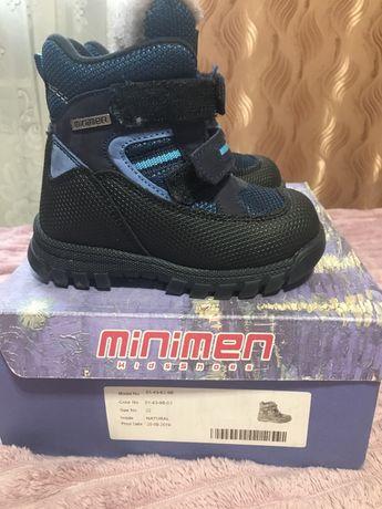 Зимние сапоги MiniMen 22 размер
